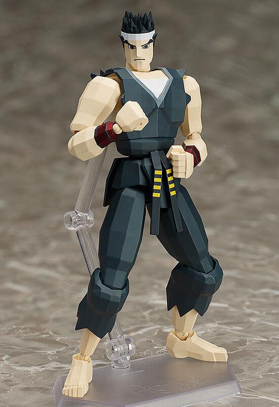 Virtua fighter - akira yuki figma actionfigur sp-067a (befreiung).