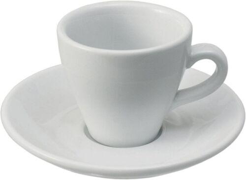 6-er Set Espresso Tasse mit Untertasse Serie Italia in Gastro-Qualität