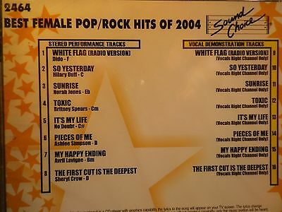 Aggressive Sound Choice Star Series Karaoke Cdg Scst2464 Female Best Rock Of 2004 Easy To Repair