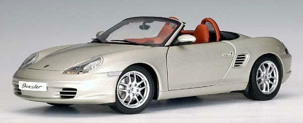 2003 Porsche 986 Boxster por Autoart 1 18 Artic plata Totalmente Nuevo En Caja
