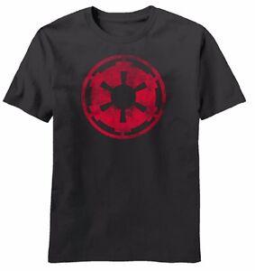 Star Wars Movie Aging Empire Symbol Licensed Adult T-Shirt