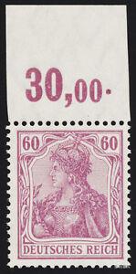 DR-1911-MiNr-92-I-a-P-OR-tadellos-postfrisch-Attest-Jaeschke-L-Mi-1800