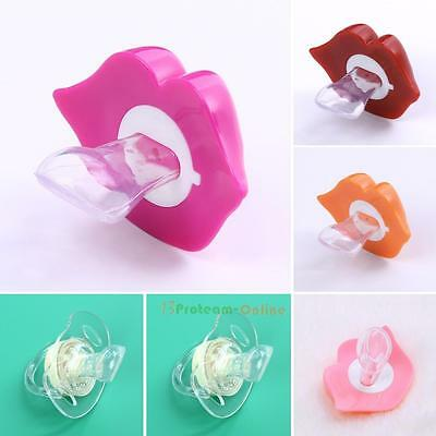 Funny Baby Infant Dummy Pacifiers Silicone Smoother Orthodontic Teether Nipple