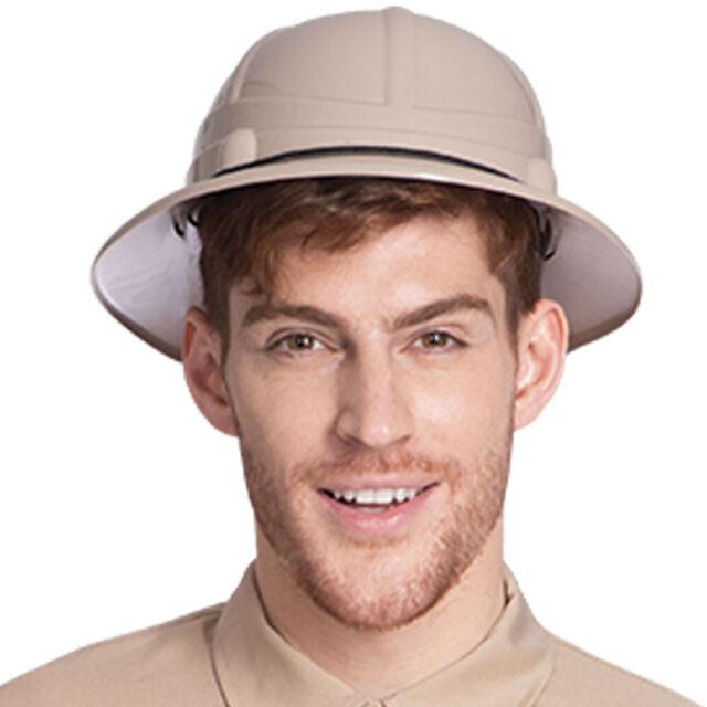 Adults Safari Hat Mens Ladies Explorer Zoo Keeper Fancy Dress Costume Accessory