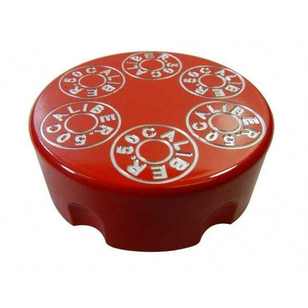USA Made Billette Aluminium UTV rouge Poudre Manteau Gas Cap partie par Calibre 50 Racing