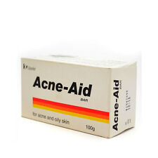 M# STIEFEL Acne-Aid Soap Bar Deep Pore Cleansing Pimple Oily Skin 100 g