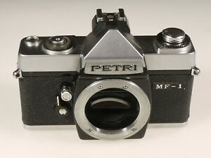 PRL-PETRI-MF-1-FOTOCAMERA-ANALOGICA-FOTORIPARATORE-BODY-SPARE-PARTS-REPAIR