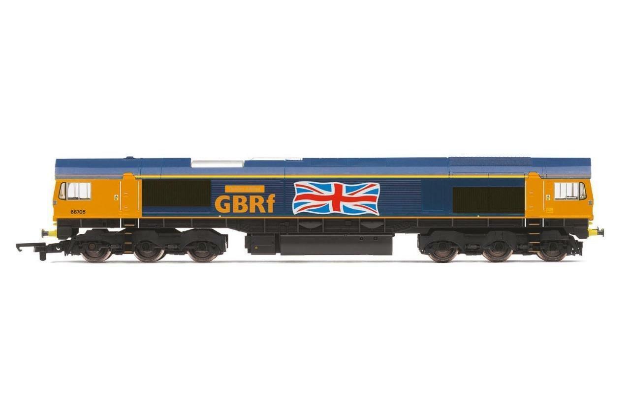 Hornby - R3784 - Class 66 66705 'oroen Jubilee' GBRf NEW RELEASE