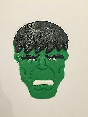 The Incredible Hulk Cake Topper super heros avengers boys party