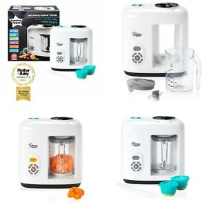 Details About Tommee Tippee Baby Weaning Steamer Blender Healthy Baby Food Maker New Boxed