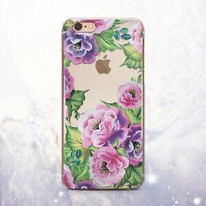Dettagli su PRIMAVERA Floreale Fiori in Silicone iPhone 11 8 Custodia Cover Pro iPhone 12 SE2 x XS XR- mostra il titolo originale