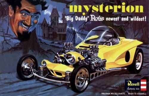 1960s REVELL Big Daddy Roth/'s Mysterion model box replica magnet new!