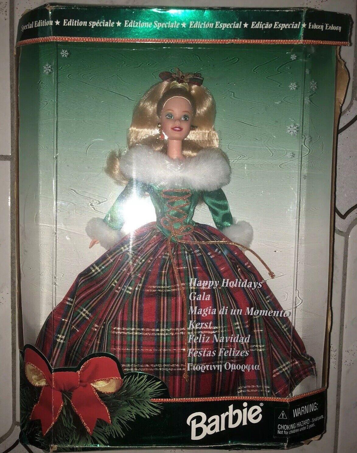 1995 SPECIAL EDITION  Holidays Gala Magia di un Momento Barbie Collector NRFB