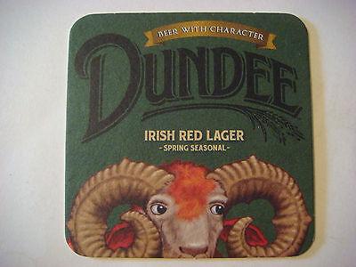 Sammeln & Seltenes Streng Bier Untersetzer ~ ~ Genesee Dundee Irisch Rot Lager ; Rochester,new York
