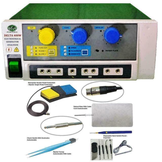 Advance 400 Watt Electrosurgical Generator Electro Surgical Cautery 400 W Delta