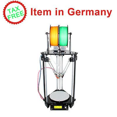 Sin impuestos Geeetech Auto Level Kossel Delta Rostock dual head impresora 3D