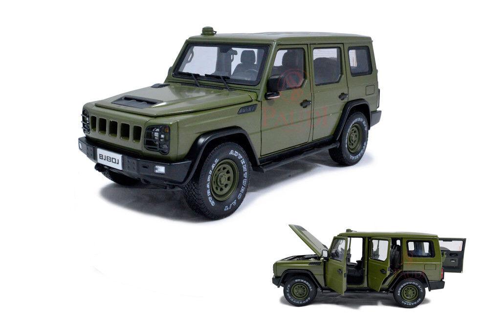 1 1 1 18 1 18 Scale Beijing Jeep BJ80J ORV (off road vehicle) Diecast Model Car 94bf61