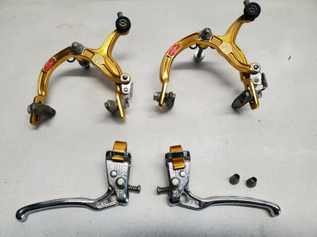Dia-Compe MX1000 Tech-6 Gold /& Black Brake Set Old Vintage School BMX MX128