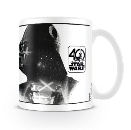 Star Wars 40th Anniversary Tazza Darth Vader-tazza di caffè Tazza da caffè NUOVO OVP