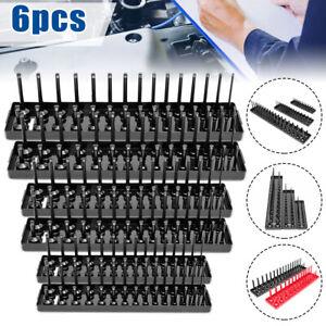 Socket-Organizer-Tray-Rack-Storage-Holder-Tool-Metric-amp-SAE-1-4-039-039-3-8-039-039-1-2-039-039