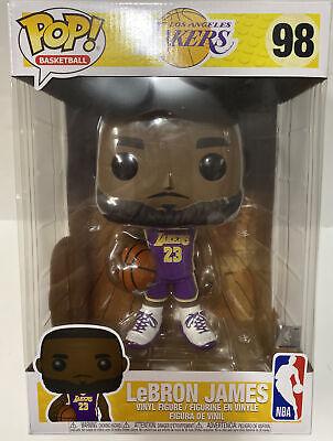 "Funko Pop NBA Lebron James 98 La Lakers 10"" Inch Purple Jersey | eBay"