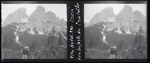 Italia Montagne Negativo Foto Stereo Placca Da Lente VR12nd