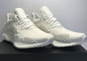 65fc024f3 Adidas Mens Size 10 Alphabounce Beyond Pride All White Athletic ...