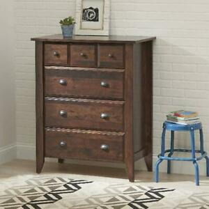 Bedroom Dresser Rustic Chest Of Drawers Discount Furniture Clothes Storage Sale 42666029353 Ebay
