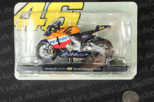 Honda RC 211V #46 Rossi World Championship 2002 Motorcycle Racing Model 1/18
