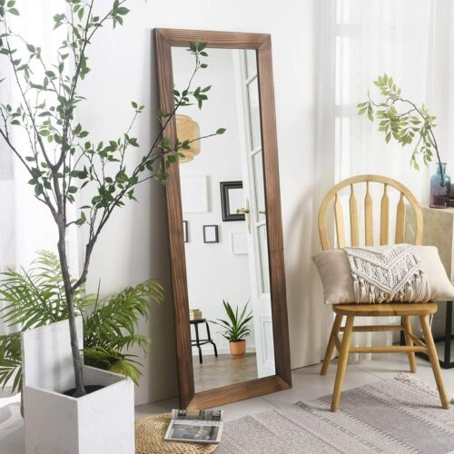 Full Length Floor Mirror Wall Hang, How To Hang A Large Beveled Mirror