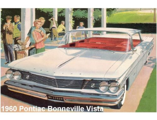 Tool Box  Magnet 1960 Pontiac Boneville Refrigerator