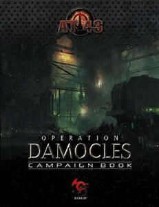 AT 43 Operation Damocles Campaign Book NEW!