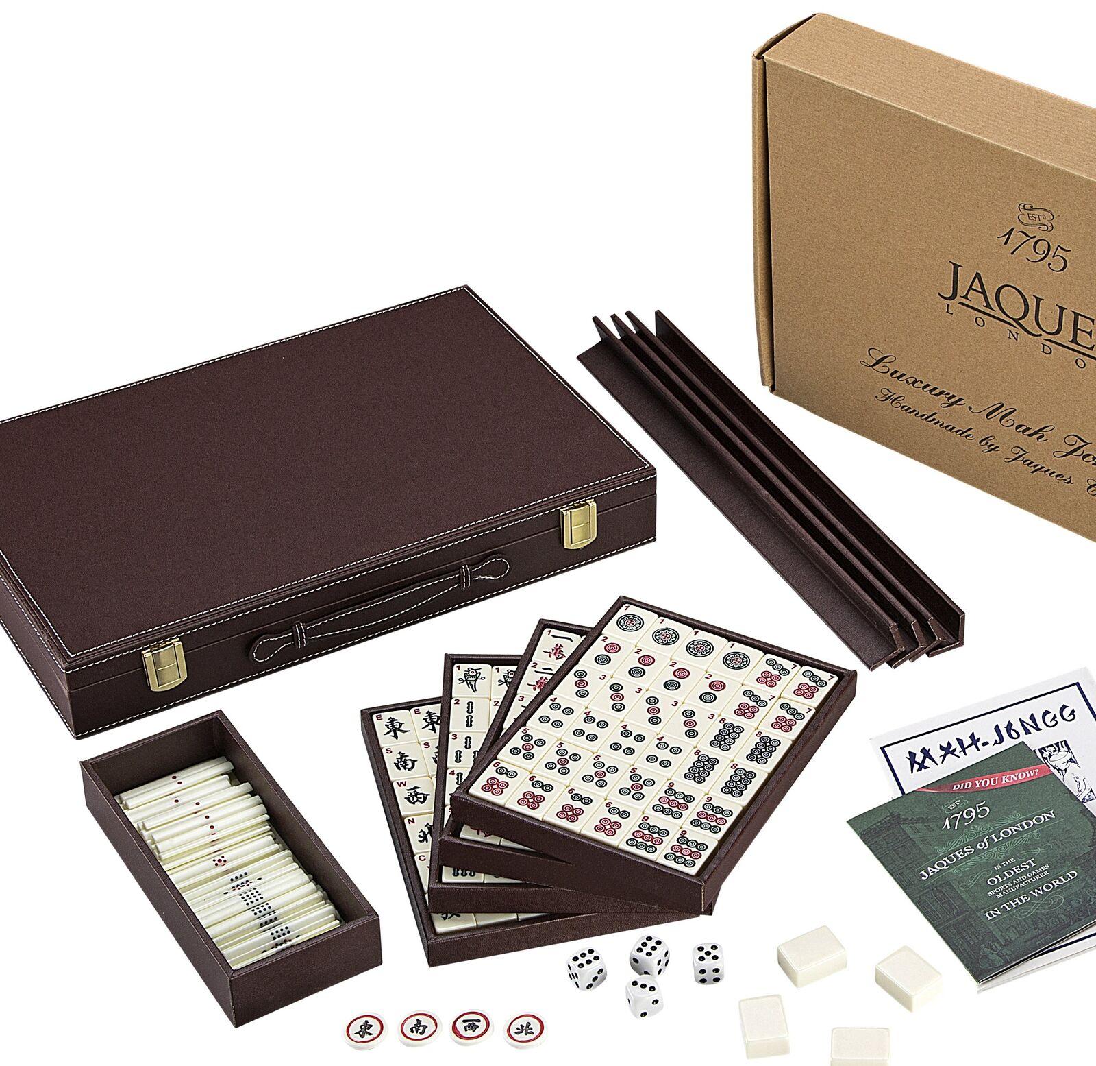 Mah Jongg Set - Luxury Club Mahjong Set - Jaques of London Since 1795