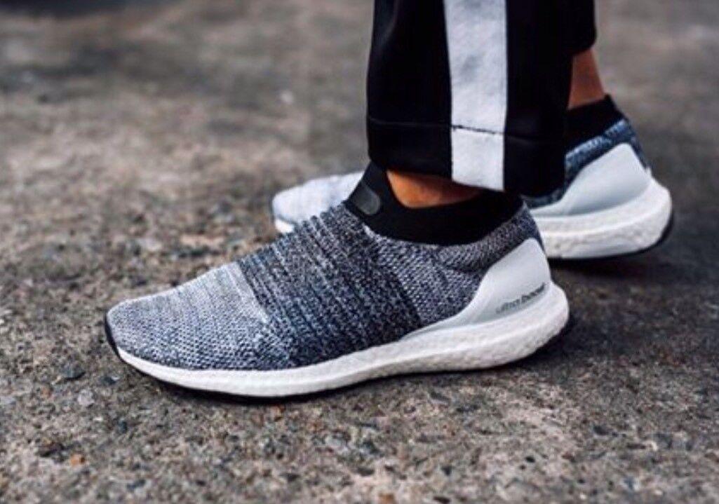 Adidas ultraboost laceless oreo / bb6141 / primeknit weiß - schwarz