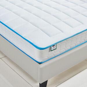 3000 Pocket Sprung Cool Blue Memory Foam Mattress Matress 3FT,4FT,4FT6,5FT UK