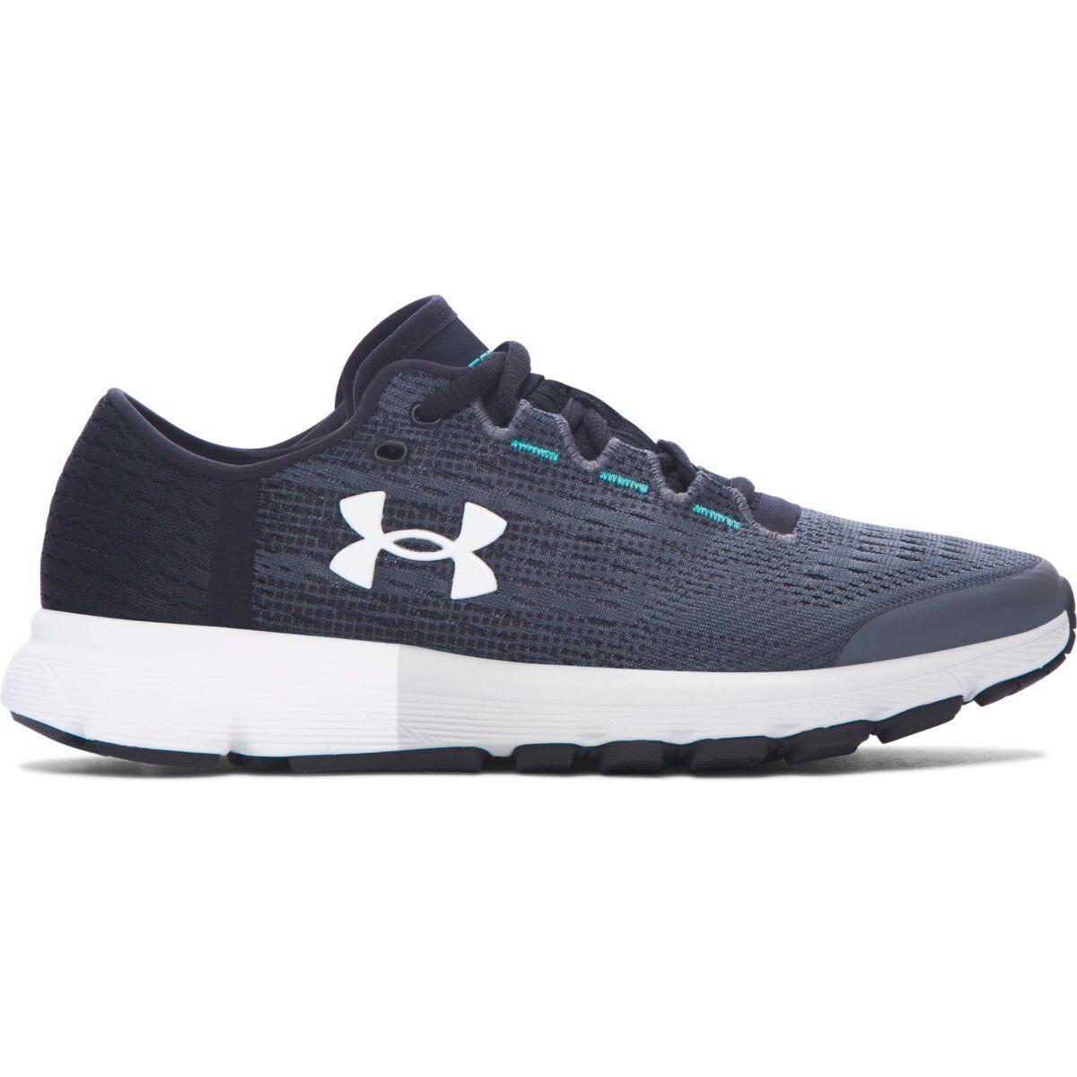 Women's Under Armour Speedform Velociti Running Shoe Rhino Gray/Black/White