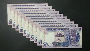 RM1-Jaafar-6th-Series-10-Running-Number-Nice-Number-UNC