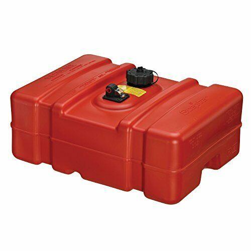 Sturdy 12 Gallon Rectangular Gas Tank w// Combination Fuel Pick Up /& Sight Gauge