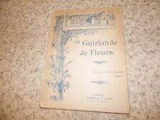 1897.Guirlande de fleurs.Abbé Blu.Laval..