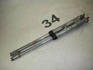 1974-Suzuki-TC100-TC-100-FRONT-FORK-Tubes-Legs-Used-Pair-L-amp-R-WFork-34