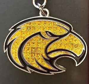 Image is loading Southern-Miss-Golden-Eagles-Bling-Keychain-Shanghi-Diamond- 3a09d8dcf