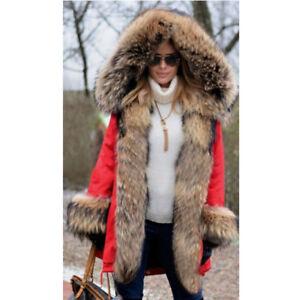 Raccoon New Collar Real Overcoat Parka Nyctereutes Hooded Women Fur Jacket Coat rOqOgtwA