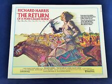 Original 1976 THE RETURN OF A MAN CALLED HORSE Half Sheet Movie Poster 22 x 28