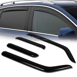 FOR 07-11 YARIS 2DR XP90 SMOKE TINT WINDOW VISOR SHADE//VENT WIND//RAIN DEFLECTOR