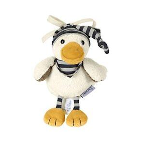 Sterntaler-Musical-Soft-Toy-Duck-Edda-Built-in-White