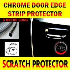 3m DOOR EDGE CHROME STRIP GUARD TRIM MOULDING PEUGEOT 1007 106 107 205 206 207
