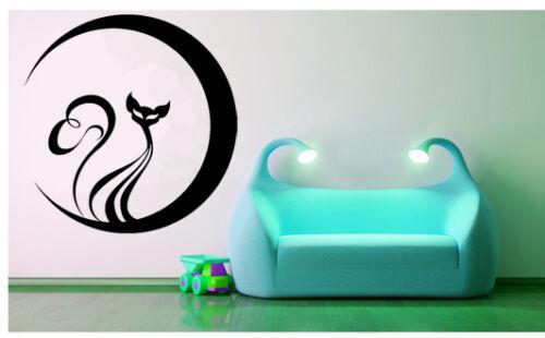 Decorative vinyl wall car frigo Decoration-Cat G-sizes and colors
