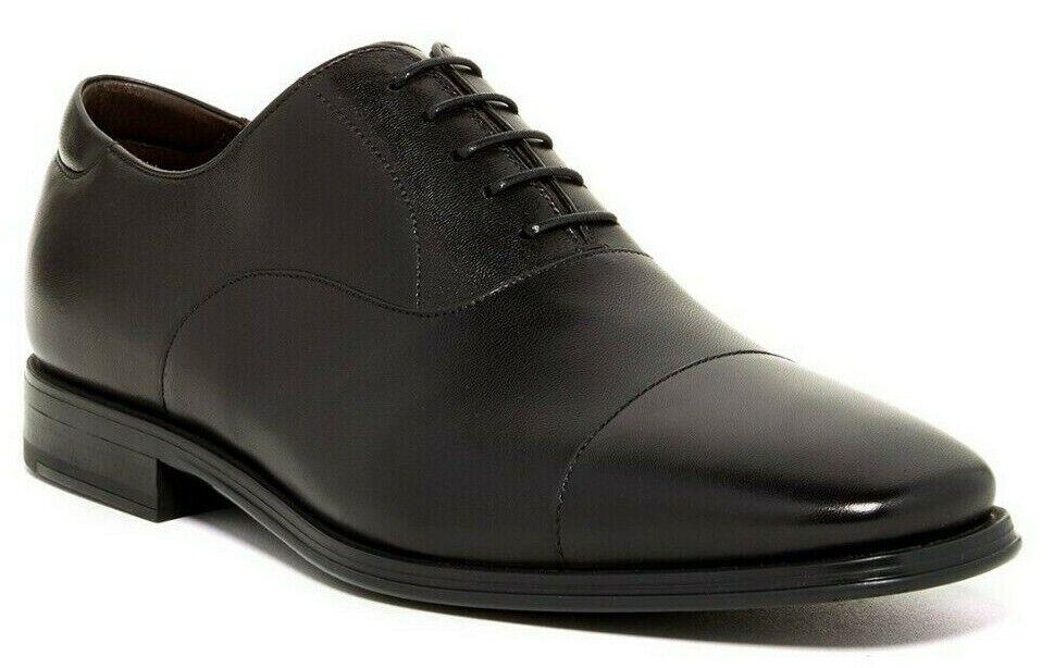 350  Magnanni Salamanca Men's Leather Oxford Lace Up Dress scarpe nero Dimensione 10  presa di fabbrica