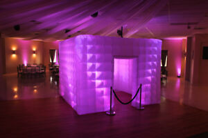 9-8ft-Inflatable-Cube-Photo-Booth-Air-Tent-Portable-Photobooth-LED-Lights-Blower