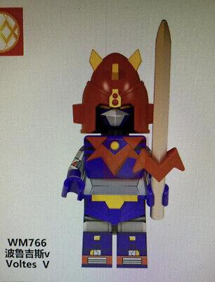 Simil LEGO Combattler V 5 Robot Minifigures New
